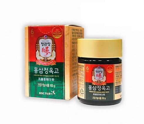 Korean Red Ginseng honey Paste Экстракт из корня корейского красного женьшеня с травами