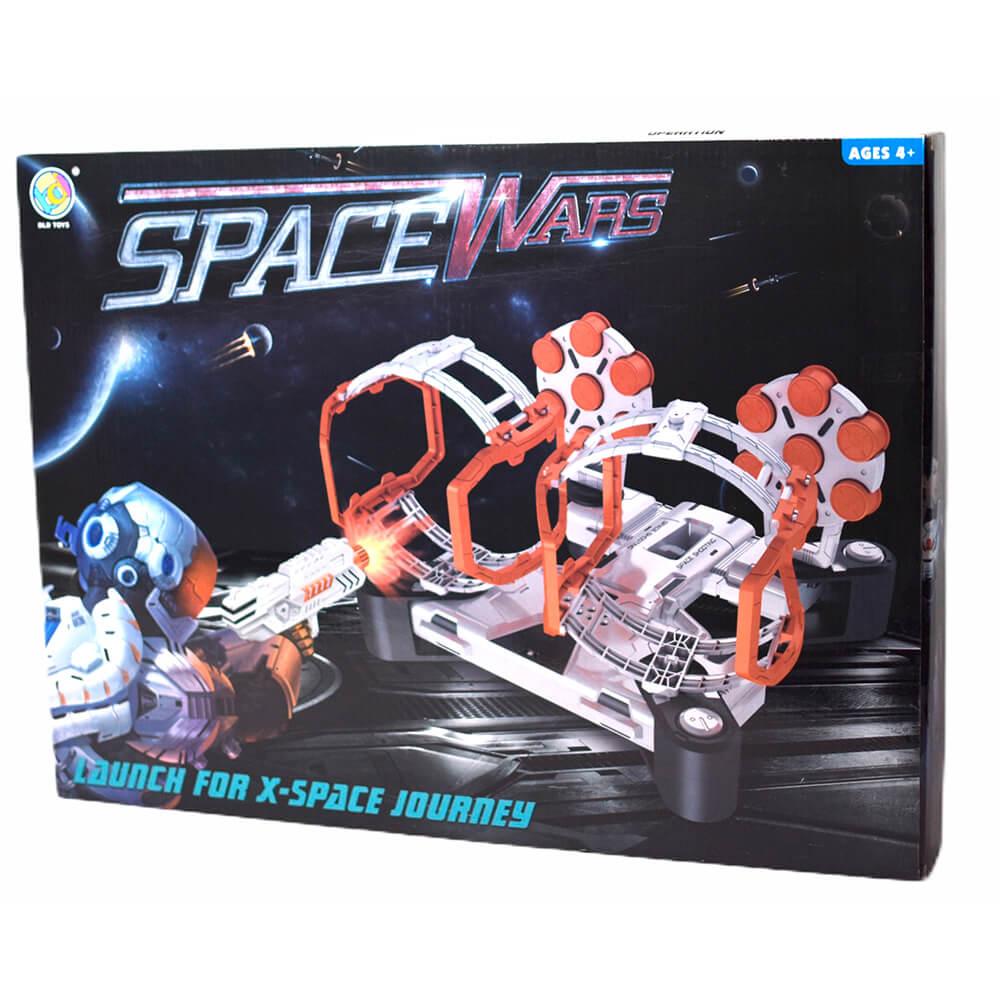 Набор игровой Space Wars «Стрельба из бластера по гравитрону с мишенями», звуковые эффекты