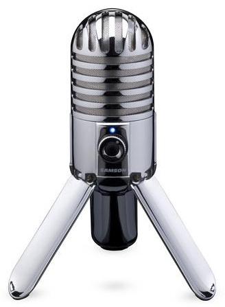 Samson. Студийный конденсаторный USB-микрофон со складной конструкцией Meteor Mic