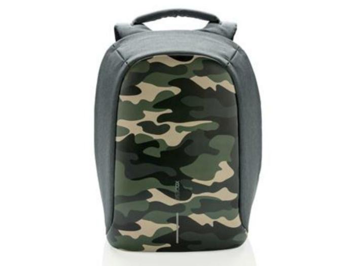 Рюкзак для ноутбука до 14 дюймов XD Design Bobby Compact Print (зеленый)