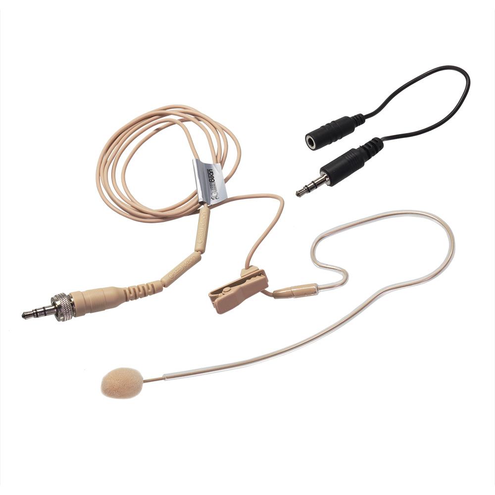 Микрофон головной GreenBean VoiceHead VH2 flesh S-Jack