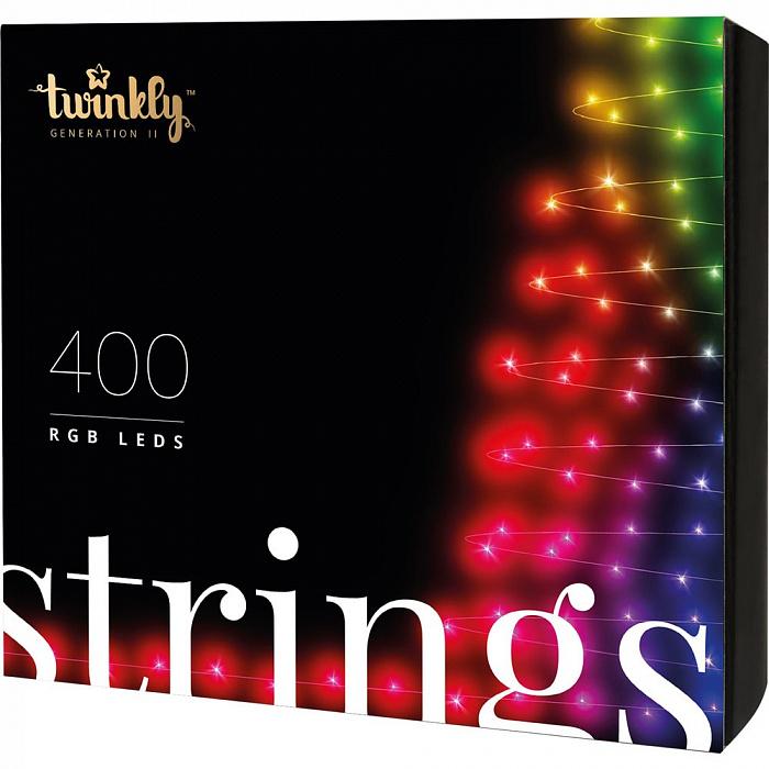 Smart-гирлянда Twinkly Strings (TWC400STP-BEU) (400 лампочек)