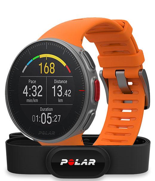 Спортивные часы Polar Vantage V HR (Orange) EMEA/LATAM/S