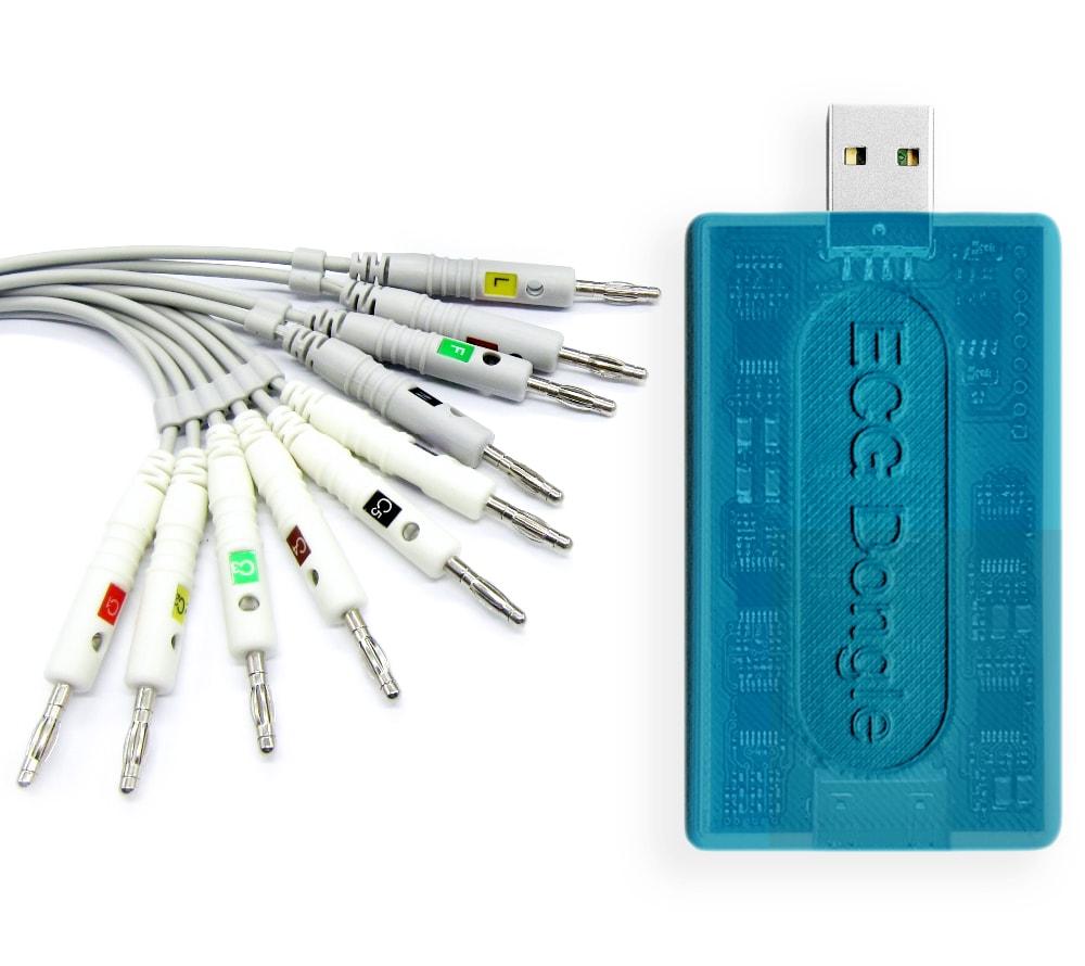 Кардиофлешка ECG Dongle Full Set (устройство и комплект электродов)