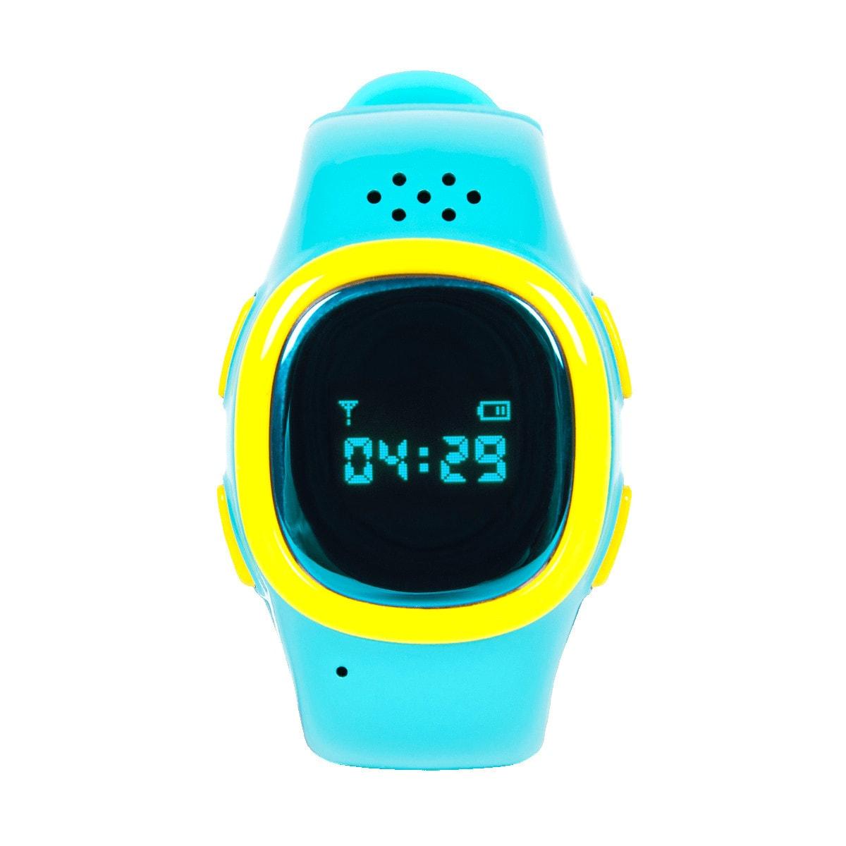 Детские часы-телефон с gps трекером EnBe Children Watch 2 Blue (уценка, вскрытая коробка)