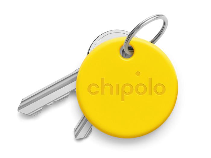 Умный брелок Chipolo ONE со сменной батарейкой Желтый (уценка, вскрытая упаковка)