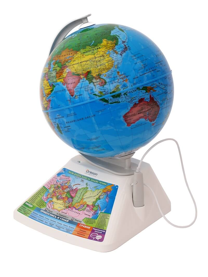 Oregon Scientific SG268RX Умный глобус с голосовой поддержкой Adventure 2.0 AR