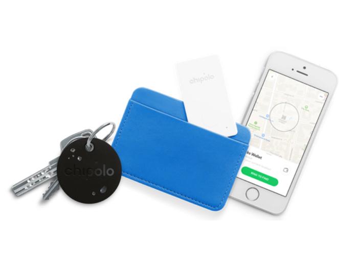 Комплект из 2-х умных брелков Chipolo PLUS и карты-трекера Chipolo CARD