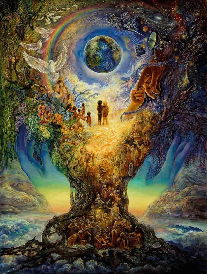 Деревянный пазл DaVICI Дерево жизни NEW