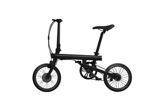 Складной электровелосипед Xiaomi Mi Mijia QiCycle Folding Electric Bike Black