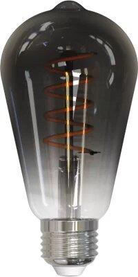 Умная лампочка филаментная Geozon FL-04 E27 black ST64