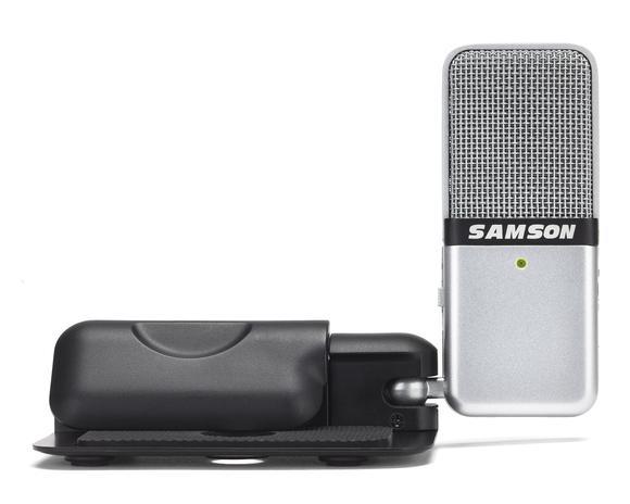 Samson. Портативный конденсаторный USB-микрофон с переключаемой диаграммой направленности  Go Mic