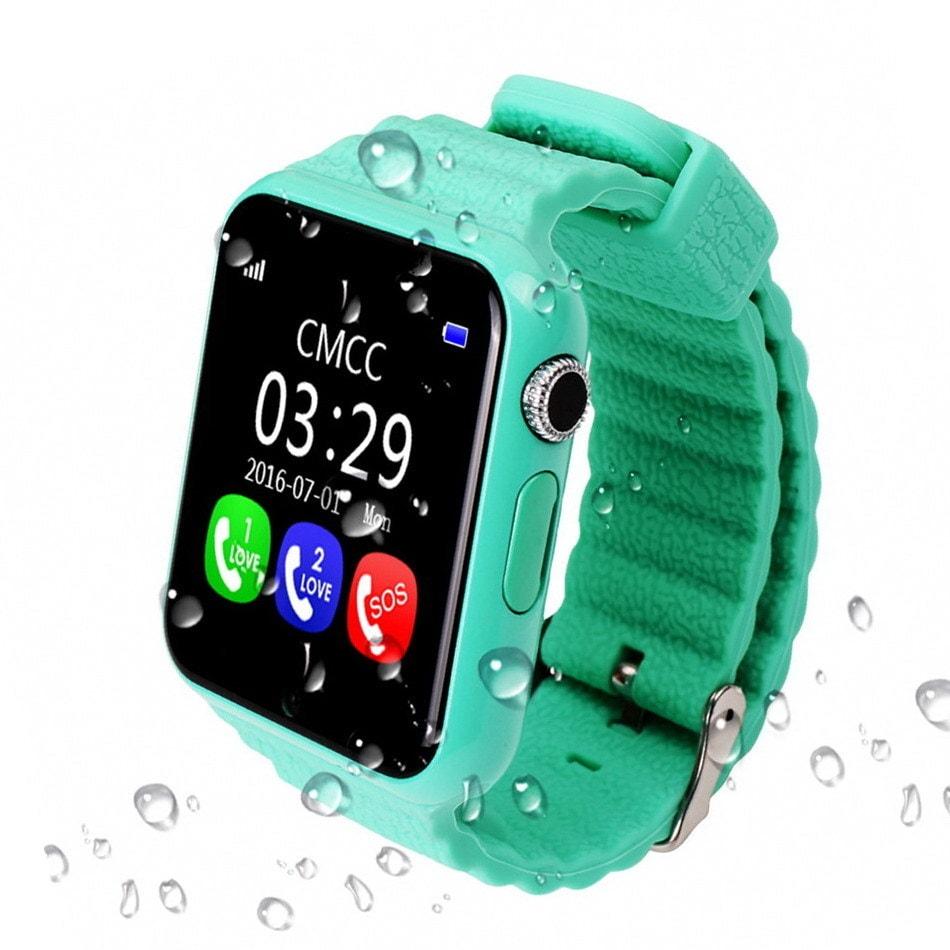 Детские часы с GPS трекером Smart Baby Watch X10