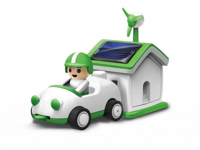 Конструктор на солнечной батарее «Автомобилист» Bradex