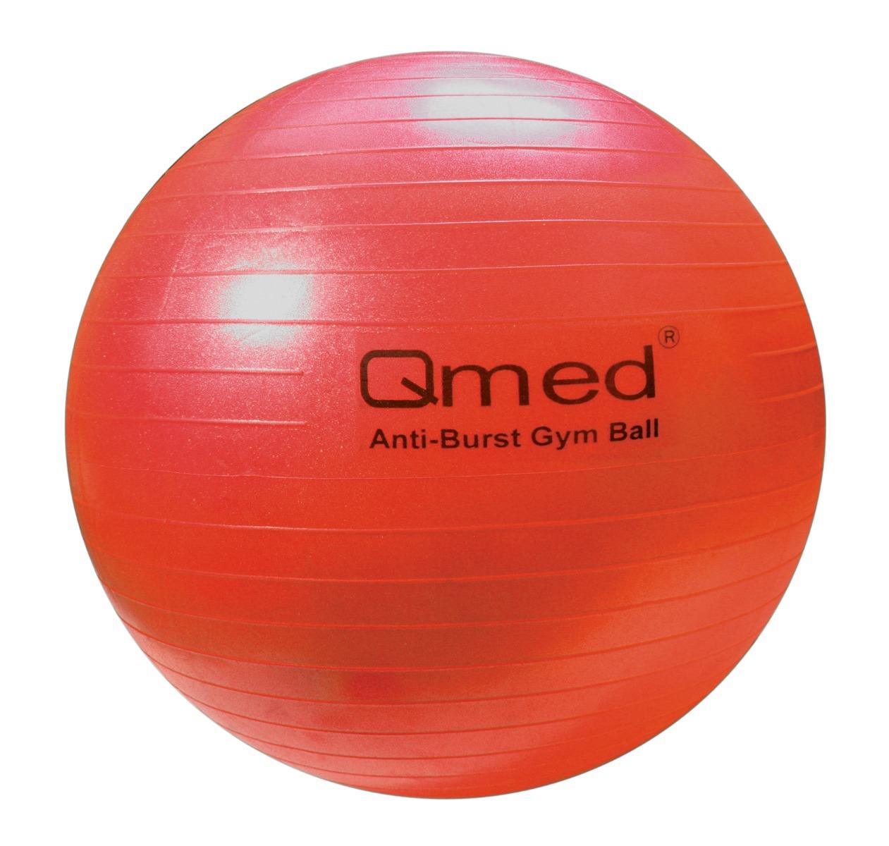 Реабилитационный мяч ABS GYM BALL красный 55см.Qmed