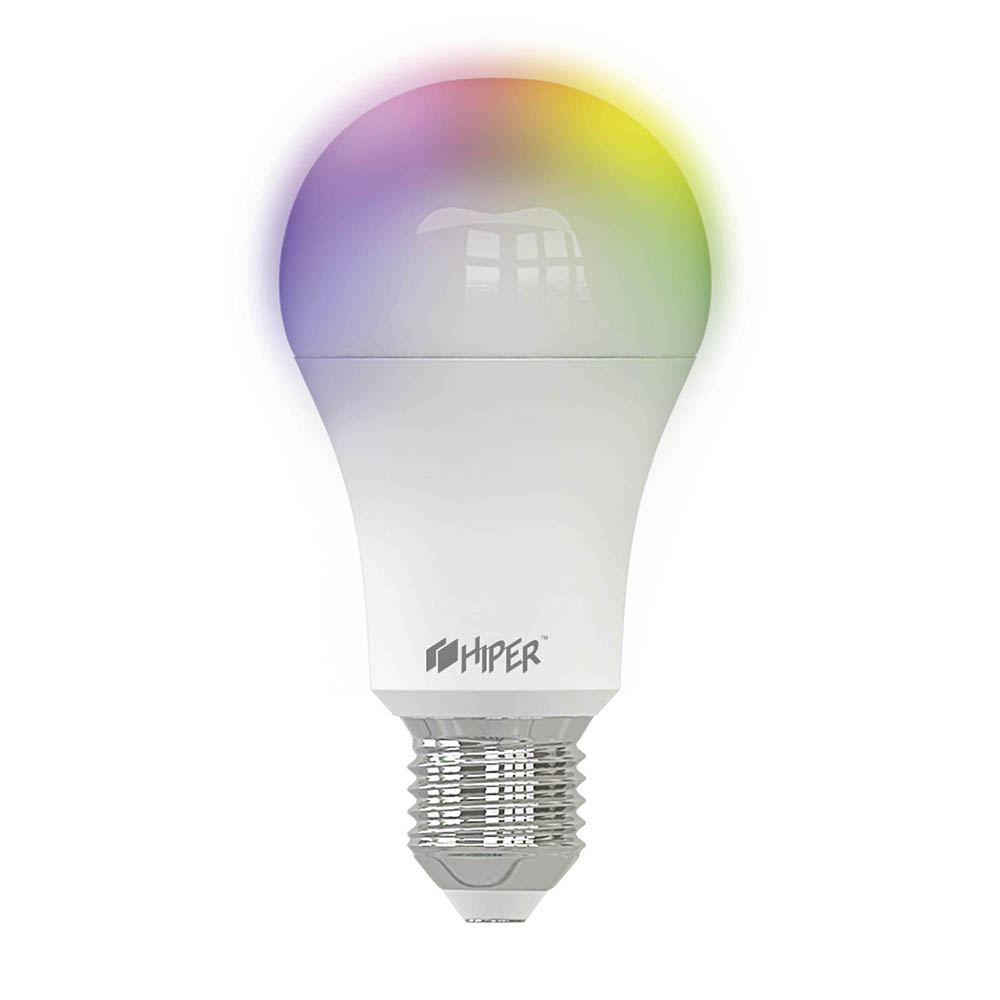 Умная LED лампочка Wi-Fi HIPER IoT A61 RGB, E27