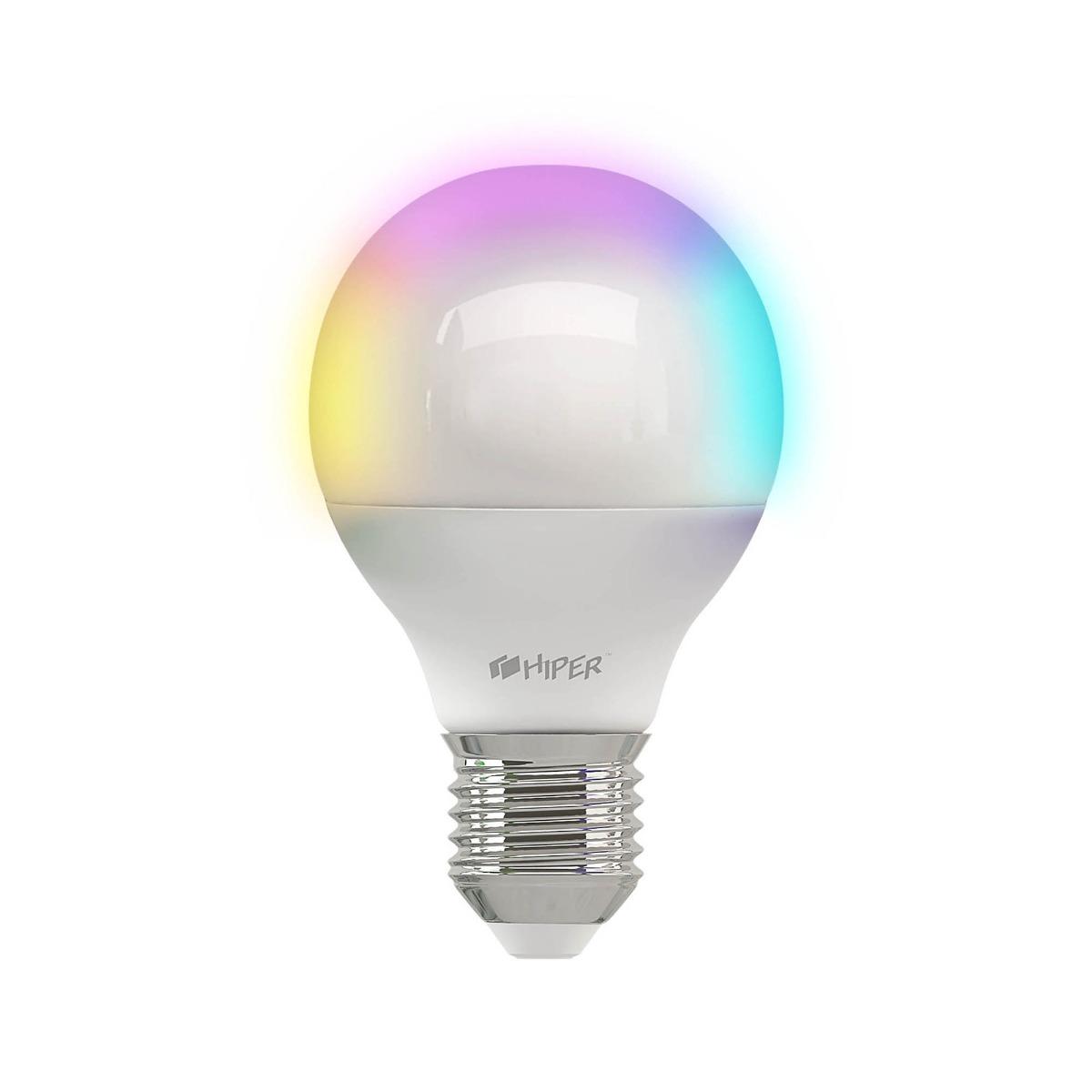 Умная LED лампочка Wi-Fi HIPER A1 RGB