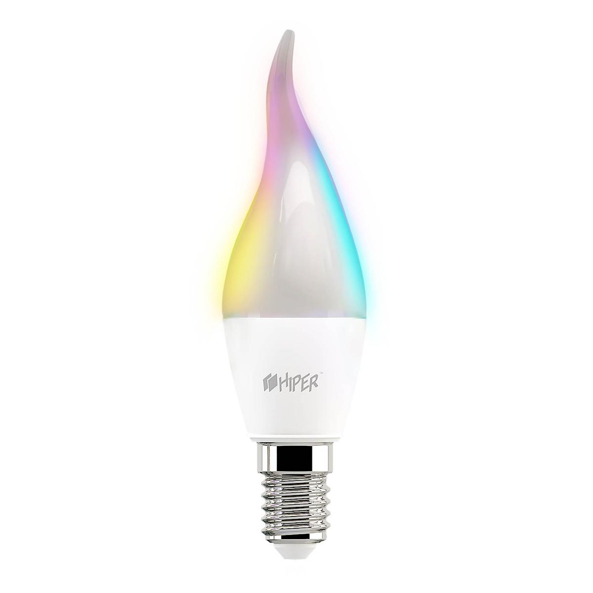 Умная LED лампочка Wi-Fi HIPER C2 RGB