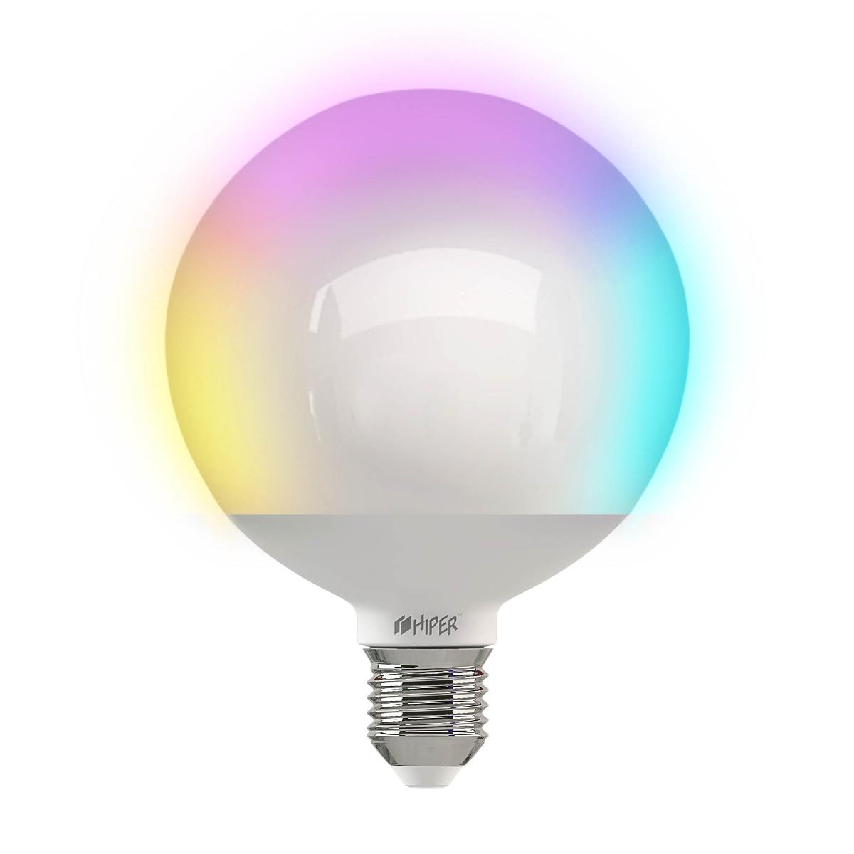 Умная цветная LED лампочка Wi-Fi HIPER R2 RGB