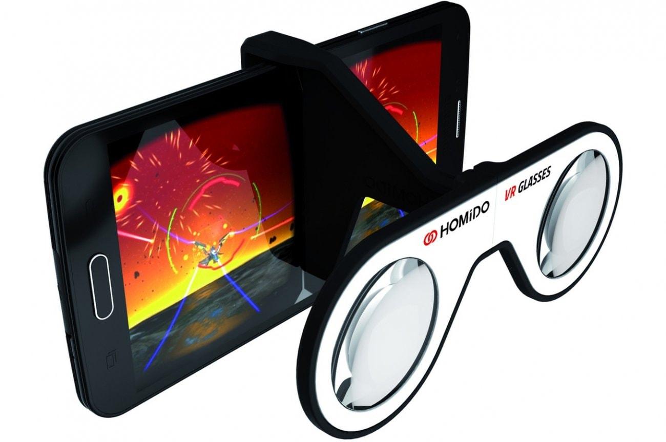 Шлем виртуальной реальности Homido mini
