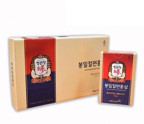 Honeyed Korean Red Ginseng Slices Вяленые в меде кусочки корня корейского красного женьшеня