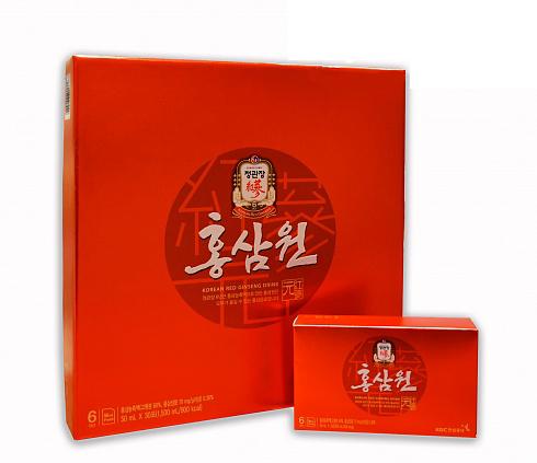 Hong Sam Won Безалкогольный негазированный напиток с экстрактом корейского красного женьшеня
