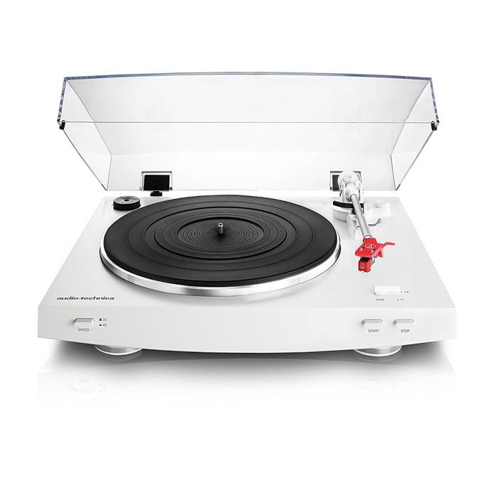 Audio-Technica AT-LP3 виниловый проигрыватель белый