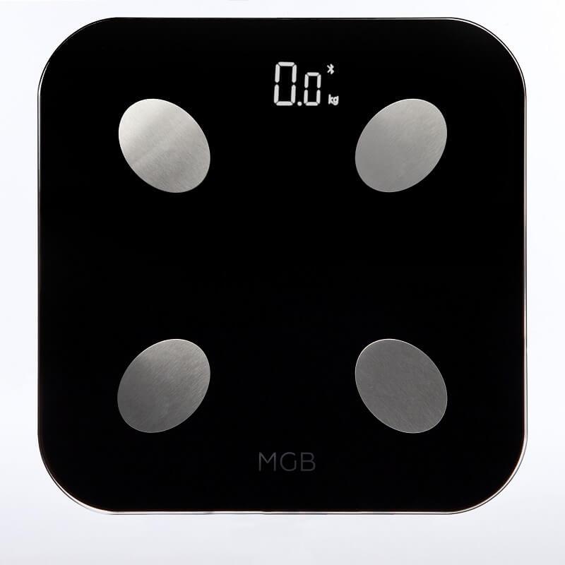 Умные весы MGB Body fat scale Glass Edition Black (уценка, вскрытая коробка)