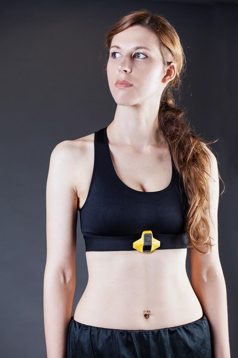 Спортивный кардио-топ Rootilabs для подключения нагрудного пульсометра (женский)