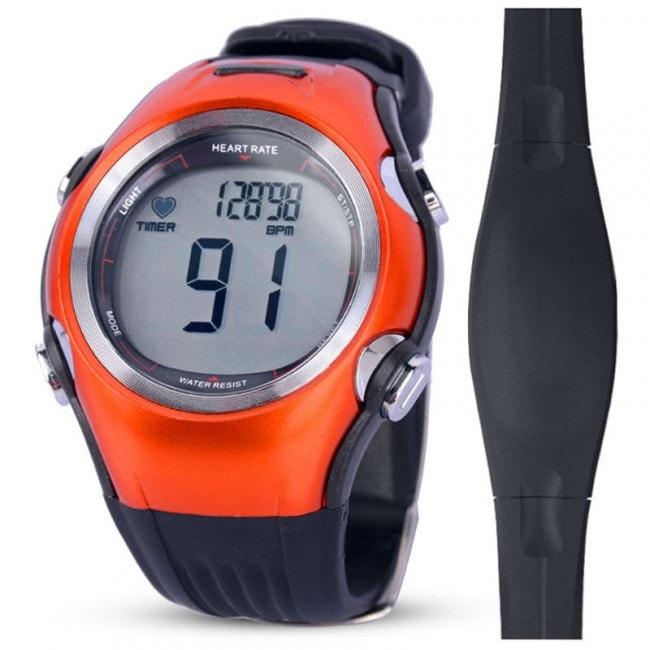Спортивные часы пульсометр iSport W117, оранжевый (уценка, вскрытая коробка)