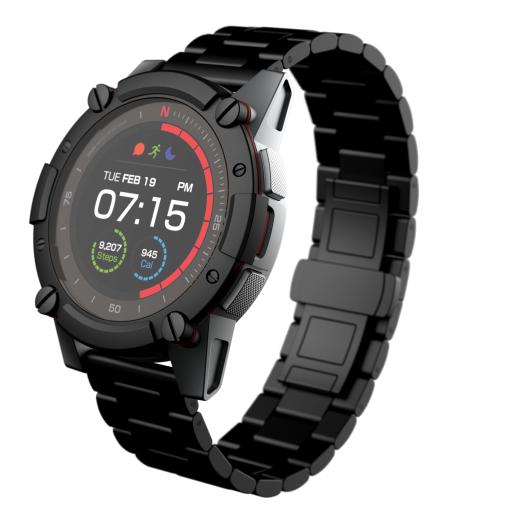 Matrix PowerWatch 2 PREMIUM — спортивные часы с датчиком ЧСС и модулем GPS, которые не требуют подзарядки