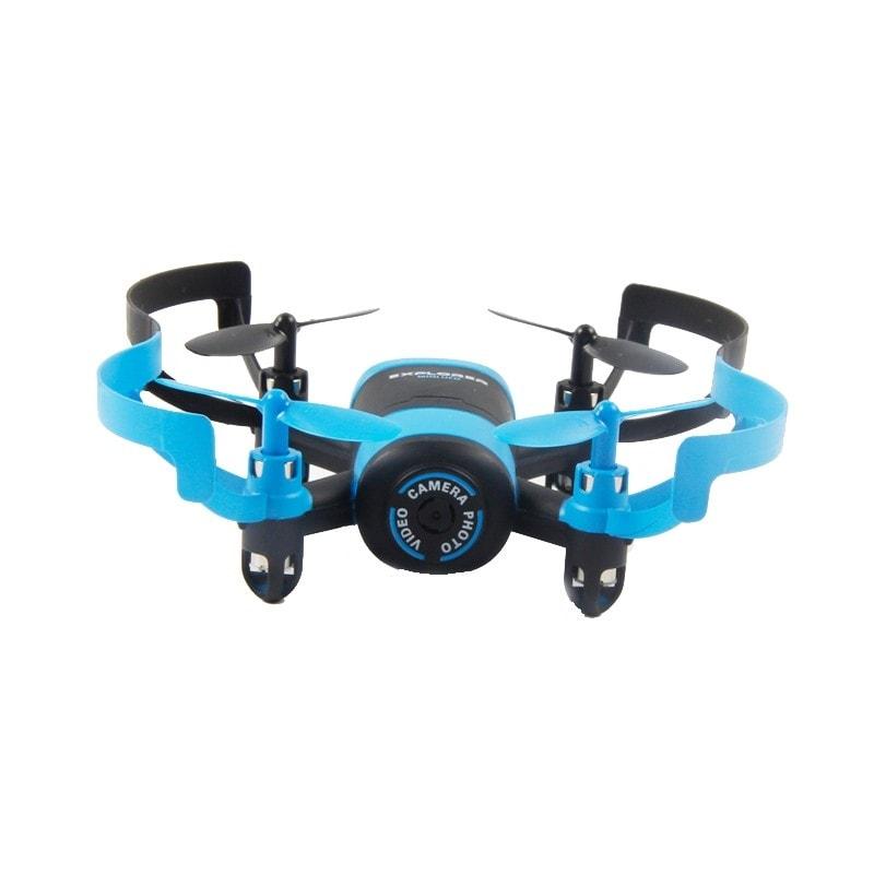 JXD Радиоуправляемый Квадрокоптер - Elfin JXD-512V (Камера), голубой