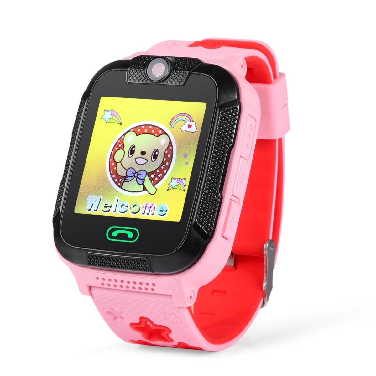 Детские часы с GPS трекером SMARUS kids K200