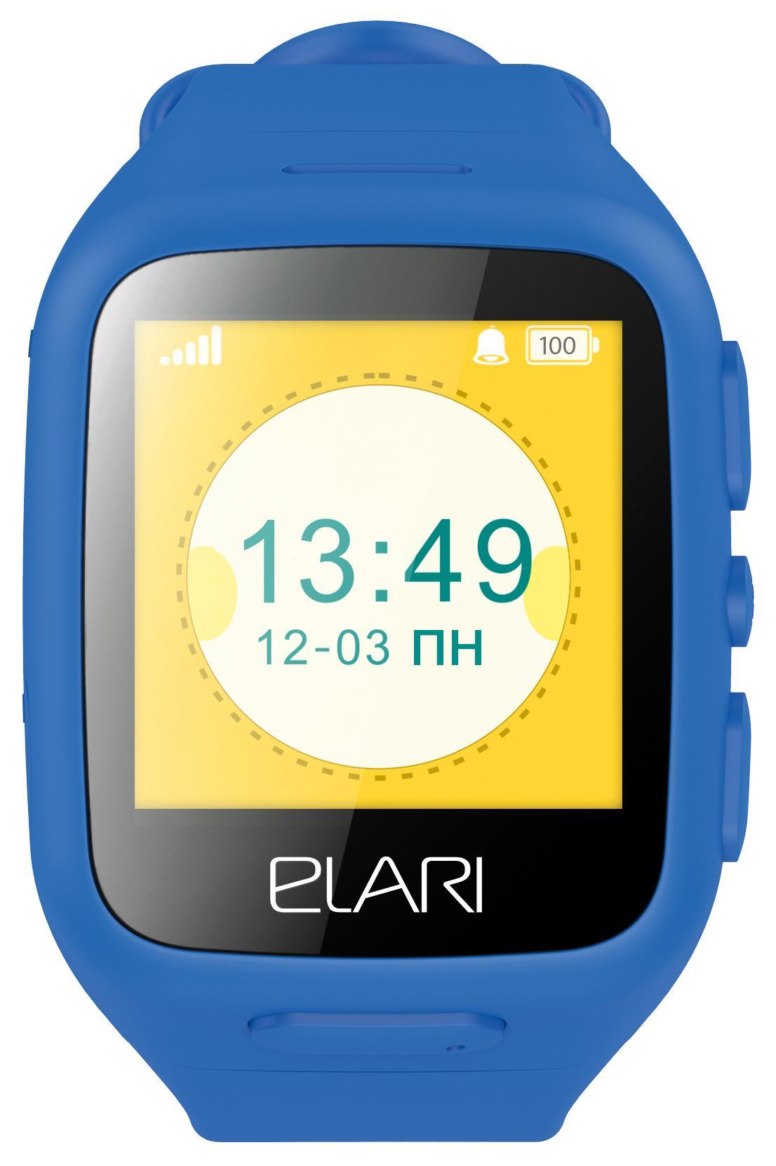 Elari KidPhone - детские часы-телефон с LBS и цветным дисплеем
