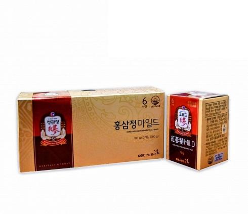 Экстракт из корня корейского красного женьшеня с медом Korean Red Ginseng Extract Mild
