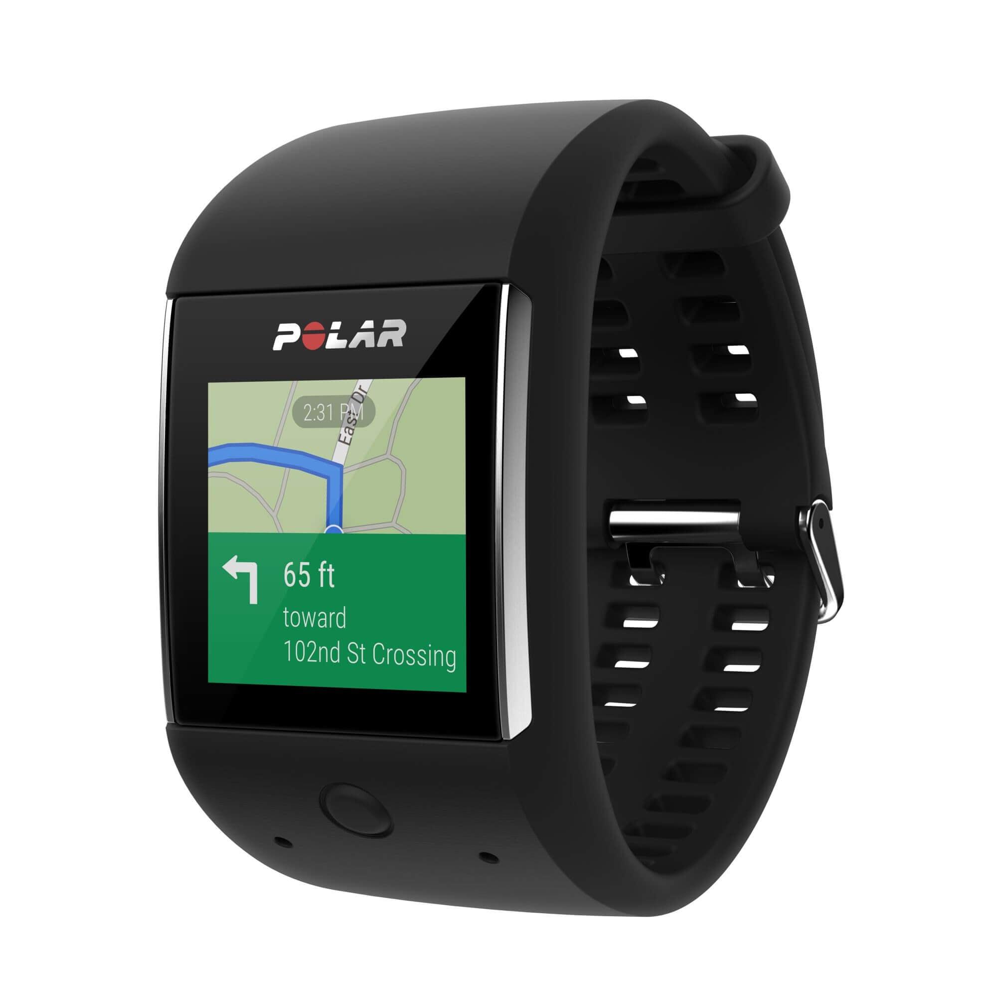 Polar M600 –  умные спортивные часы с пульсометром на базе Android™ Wear