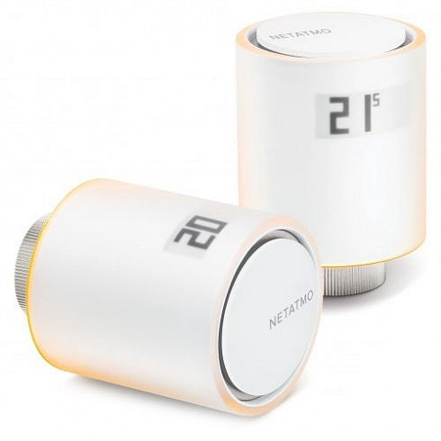 Умные радиаторные клапаны Netatmo Smart Radiator Valves (White)