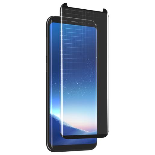 Защитное стекло LAB.C Full Cover Diamond Glass для Samsung Galaxy S8+. Цвет черный.