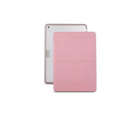 """Чехол-книжка Moshi VersaCover для iPad 9.7"""" 2018, 2017. Материал ударопрочный пластик с отделкой из микрофибры. Цвет розовый."""
