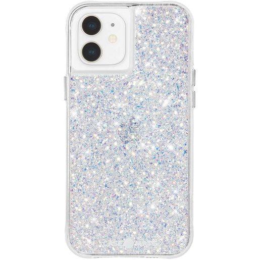 Чехол-накладка Case-Mate Twinkle для iPhone 12 mini покрытый антимикробным материалом Micropel. Материалы: поликарбонат, ТПУ. Размер изделия: 13.7 x 7 x 1.18 см. Дизайн: Stardust.