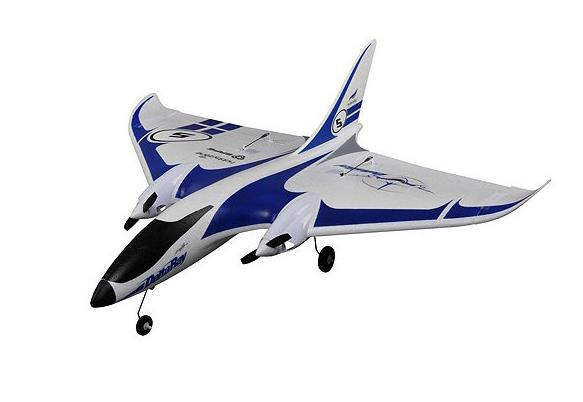 HobbyZone Радиоуправляемый Самолет - Delta Ray 850мм RTF с системой стабилизации AS3X (аккумулятор 1300мАч, ЗУ)
