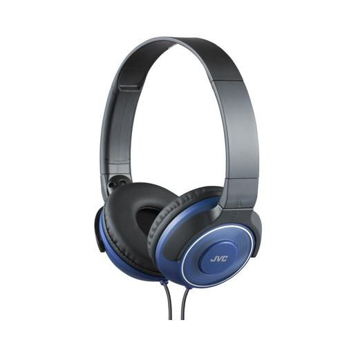 Наушники JVC накладные портативные, модель HA-S220-A-E. Цвет: синий JVC Наушники накладные портативные, модель HA-S220-A-E. Цвет: синий