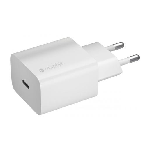 Сетевой адаптер питания Mophie Wall Adapter USB-C 20W. Тип вилки: EU. Цвет: белый. Mophie Wall Adapter USB-C 20W Mophie Wall Adapter USB-C 20W