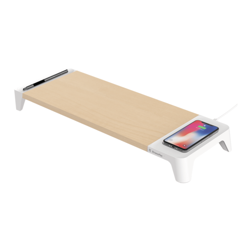 Подставка-док станция XtremeMac Wooden Stand with Wireless Charging 10W
