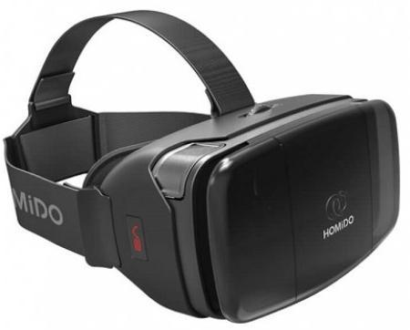Шлем виртуальной реальности Homido V2 Deluxe (Black)