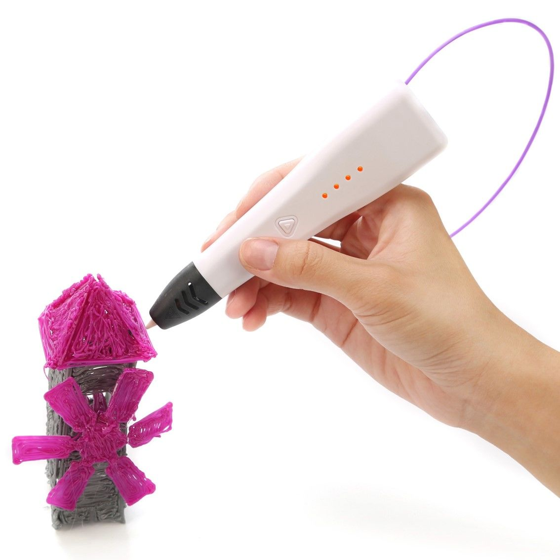 3D ручка Jer RP500A (белый)