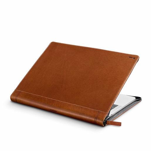 """Чехол кожаный Twelve South Journal для MacBook Pro 13"""" USB-C. Материал натуральная кожа. Цвет коричневый."""