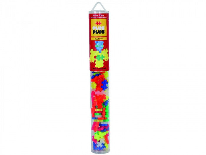 Игрушка-конструктор Plus-Plus Mini 100 Neon