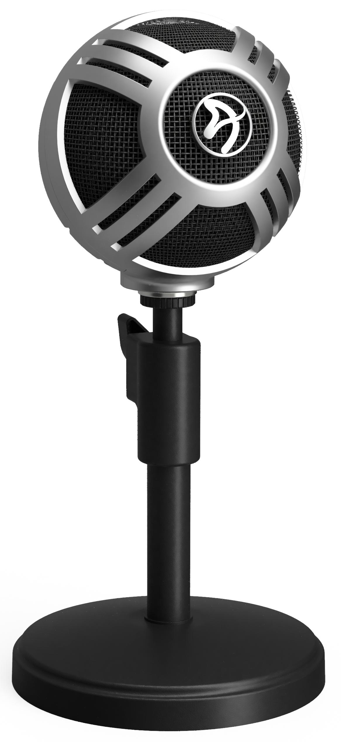 Цифровой микрофон Arozzi Sfera Pro (Silver)