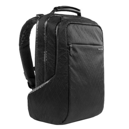 """Рюкзак Incase ICON Pack Diamond Wire для ноутбуков до 15"""". Материал водоотталкивающий нейлон 70D Diamond со вставками из натуральной кожи. Цвет черный."""